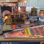 Firework selection