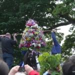 Garland put into position