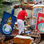 Skiffs & flags
