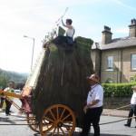 Rushcart arriving