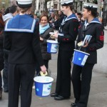 Collecting for Sea Cadets