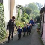 Jenyn's School pupils arrive