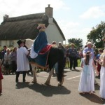 Procession sets off