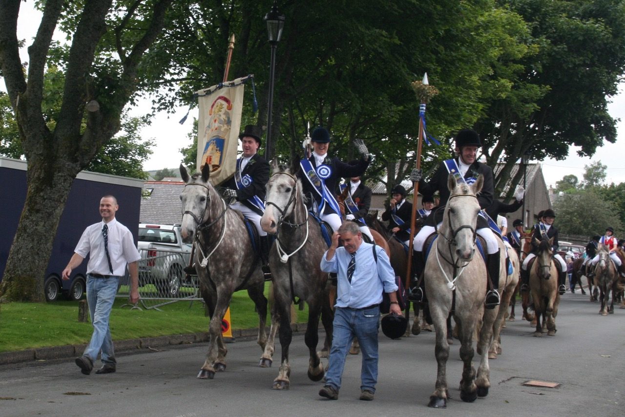 Cavalcade Of Customs >> Sanquhar Riding of the Marches