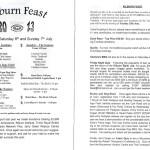 Kilburn Feast 2013 Programme