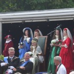 Marymass Queen Sings Auld Lany Syne