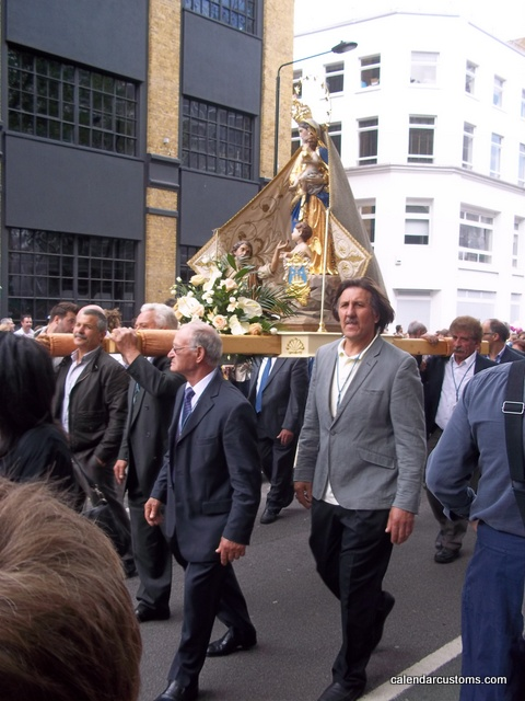 London Procession in Honour of Our Lady of Mount Carmel