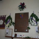 Wreaths at Sutton Cheney church
