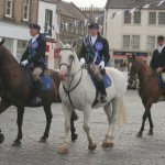 Cavalcade sets off