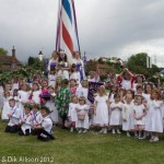 Wellow Maypole 2012-5