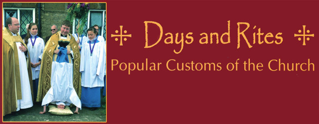 Days and Rites – Popular Customs of the Church is a new book from Heart of Albion press which discusses many church-related customs and traditions held throughout the country.