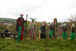 Green Man and Friends