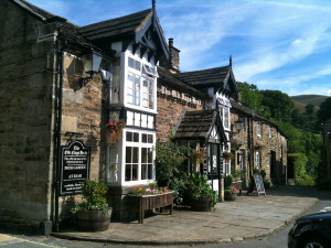 Old Nags Head Inn/Bar in Edale - beginning of the Pennine Way