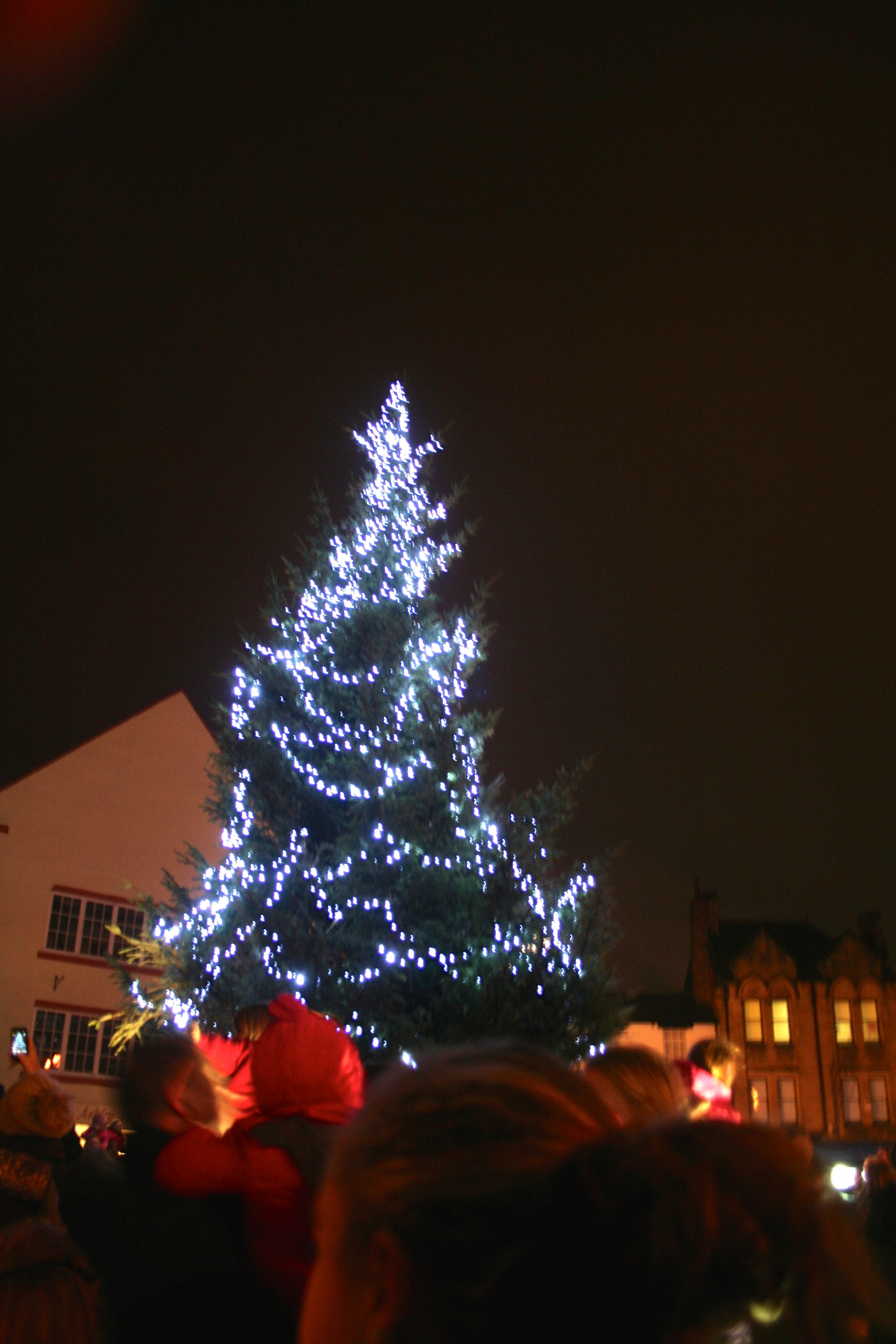 christmas light switch on 2018 chichester