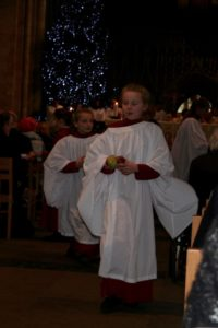Choristers and Apples
