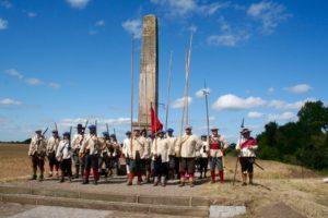 Whitecoats at the Monument