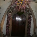 Cotehele Christmas Garland doorway
